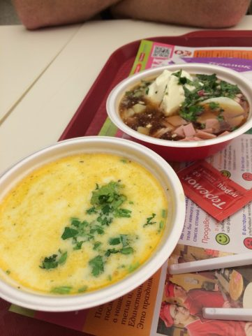 Soup with Kbaca