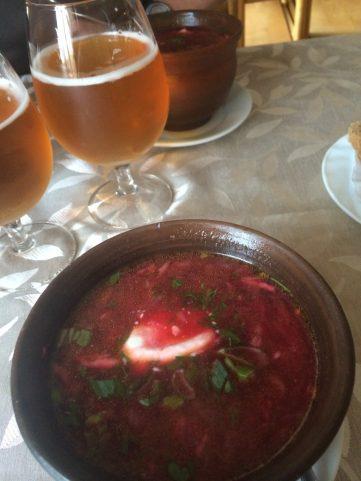 Borscht and Beer