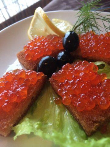 Caviar on Toast