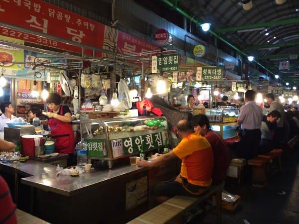Korean Food Night Market