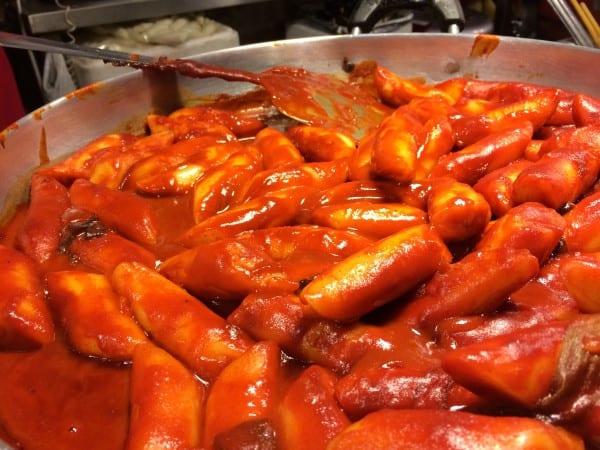 Korean Food - Tteokbokki