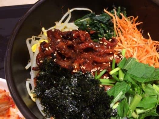 Korean Food - bimimbap
