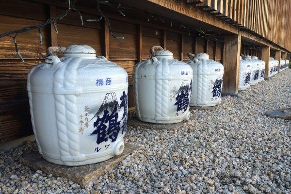 sake storage porcelain saijo japan