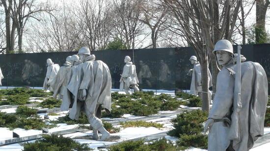 Korean War Memorial Statue
