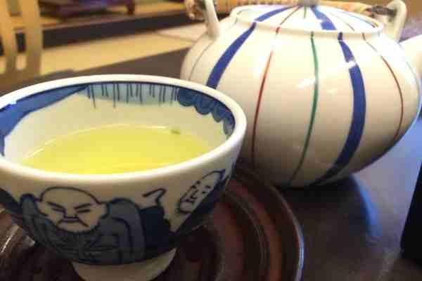 Japanese Tea in Kinosaki