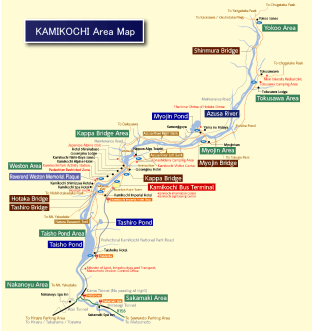 Kamikochi_Map