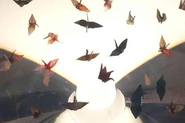 Paper Cranes Peace Memorial Museum Hiroshima