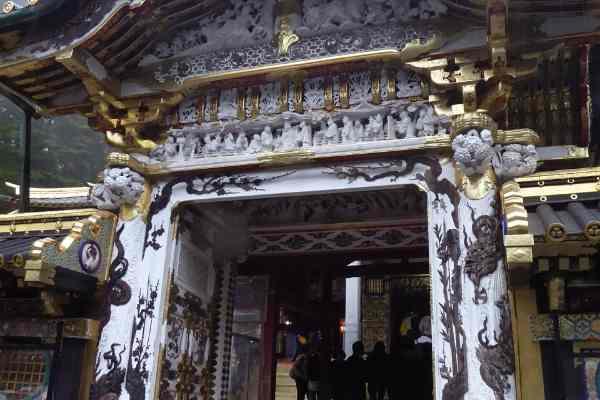 Taiyuinbo Shrine Entrnace
