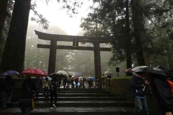 Tori Gates to Shrines Nikko