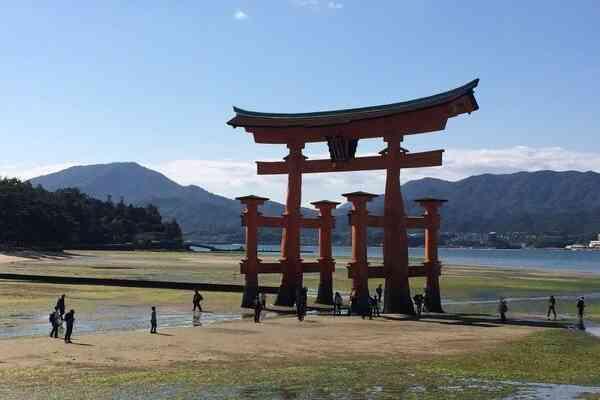 Torji Shrine Gate Miyajima