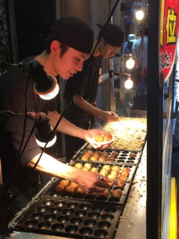 Japanese Food - Making Takoyaki