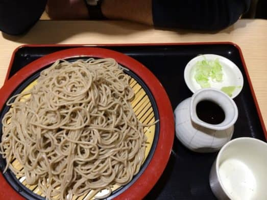 Japanese Food – Soba Noodles