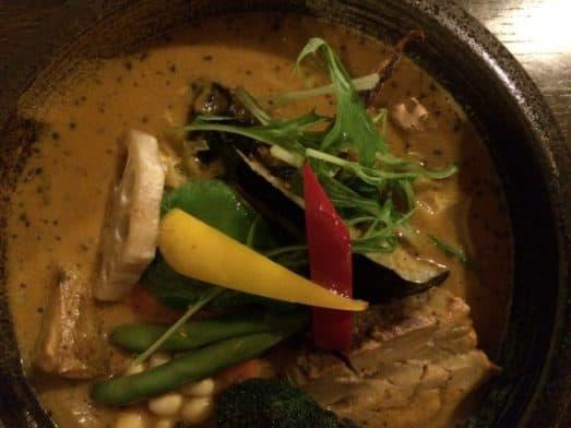 Japanese Food – Hokkaido Curry Soup