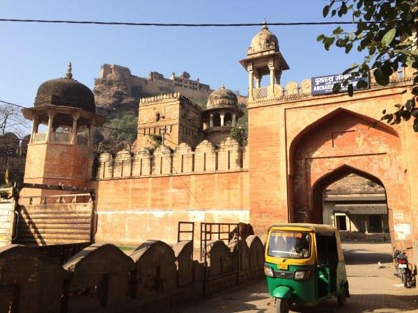 Gwalior-Fort-Gwalior-Gate