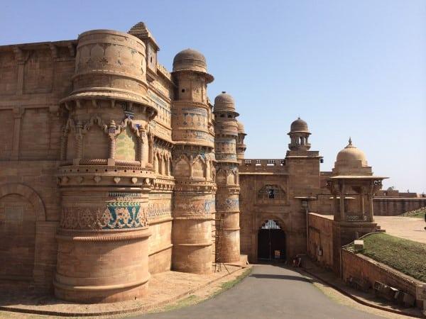 Gwalior-Fort-Man-Singh-Palace-1