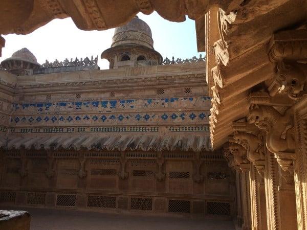 Gwalior-Fort-Man-Singh-Palace-4