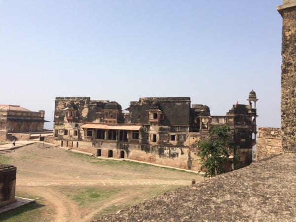 Gwalior-Fort-Shah-Jahan-Palace-area-1