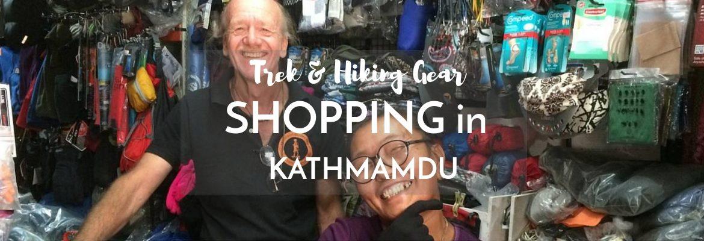 Shopping in Kathmandu for Trekking Gear [2019 Season