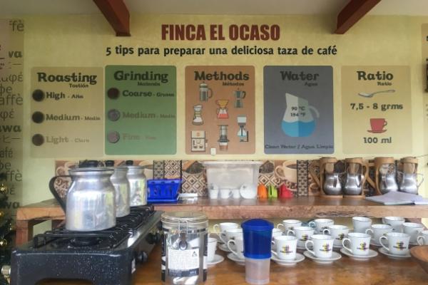 Tour Finca el Ocaso in Salento