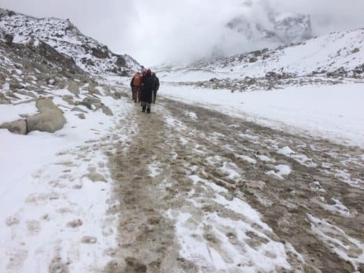 Gorakshep to Everest Base Camp Trail Conditions