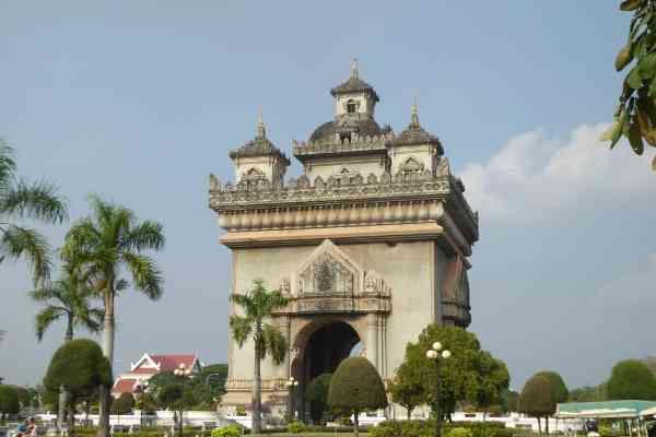 Patuxai monument victory gates vientiane