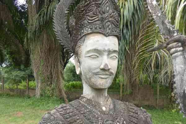david beckham buddha park vientiane