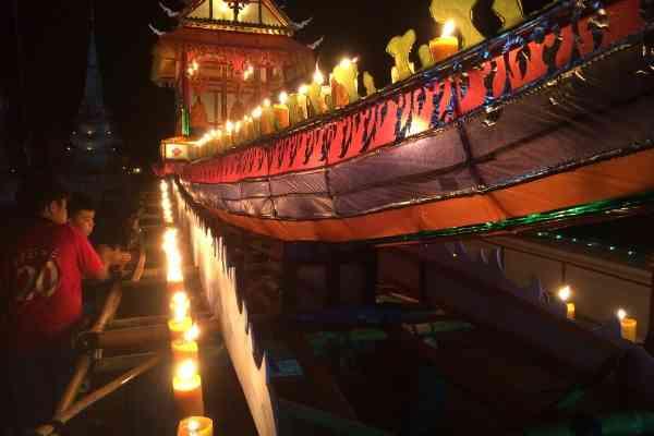 fireboat festival luang prabang