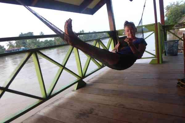 hammock on the mekong don khone