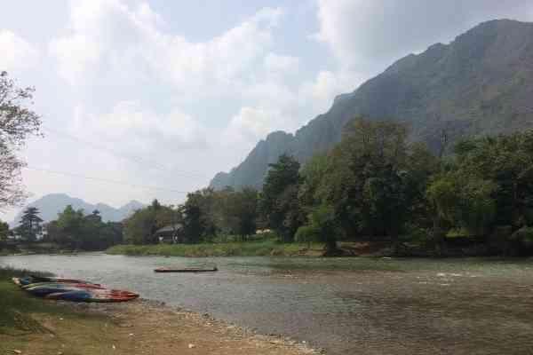 river nam song vang vieng