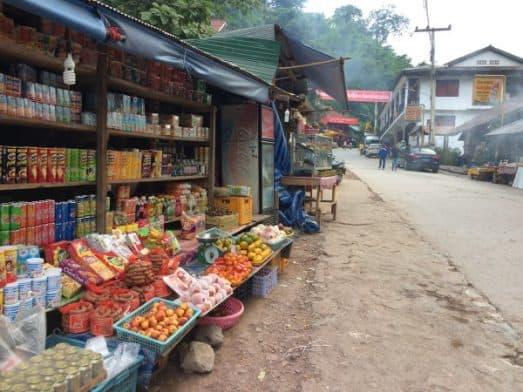Food Stalls Pakbeng