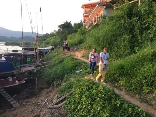 Houay Xai Slow Boat Dock