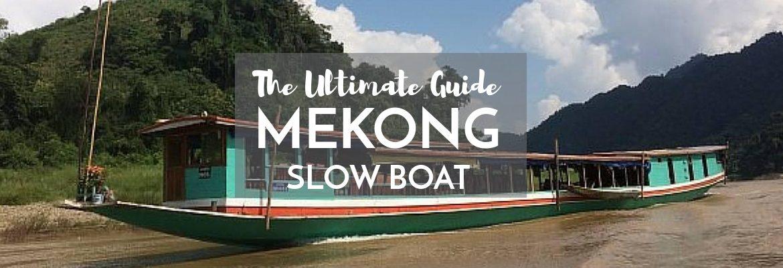 Mekong River Slow boat Laos
