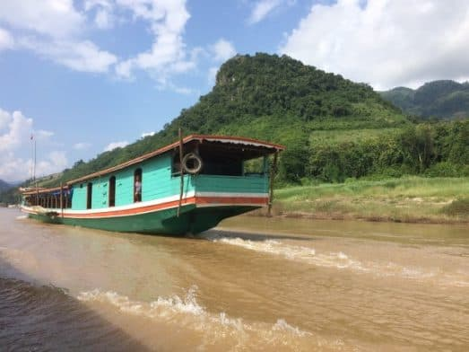 Laos Mekong Slow Boat