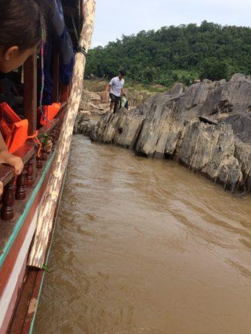 Local Drop off Slow Boat Laos