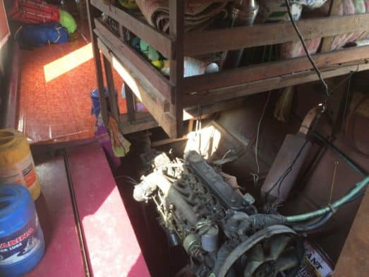 Slow Boat Laos Engine