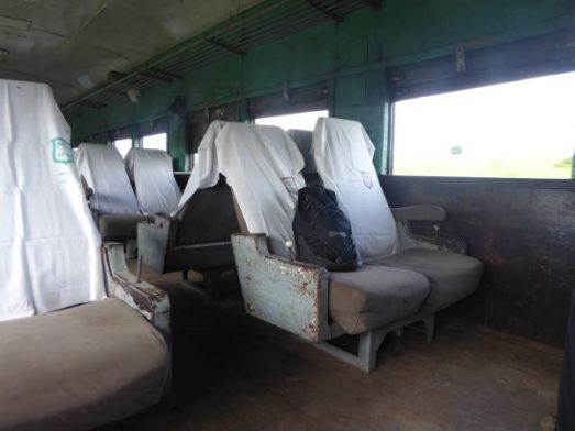 The Slow Train to Thazi-Upper Class Seats