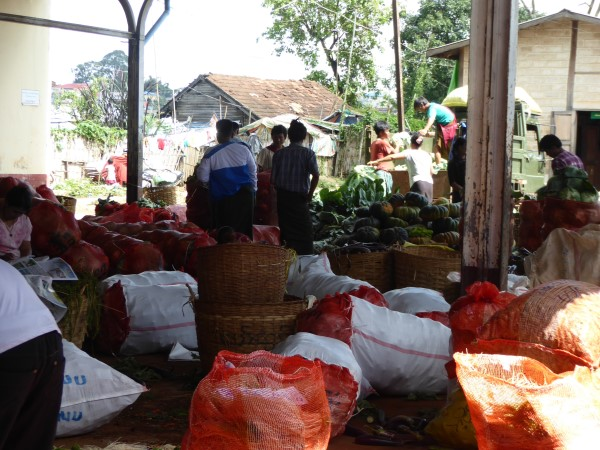 Fresh product in Myanmar