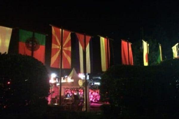 Bansko Jazz Festival flags