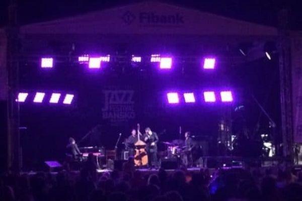 Bansko jazz Festival stage