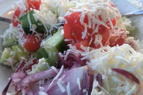 Shopska Salad-Shopska salat-Шопска салата