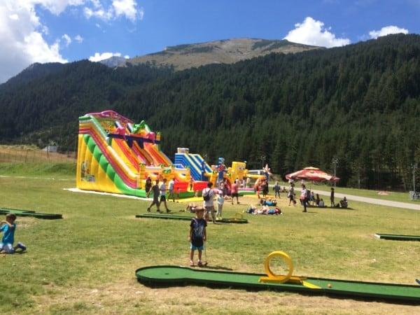 Summer in Bansko On Mountain aCtivities