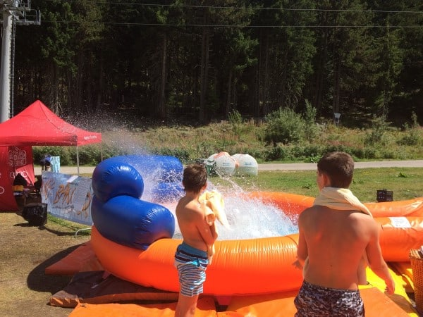 Summer in Bansko Water Slide