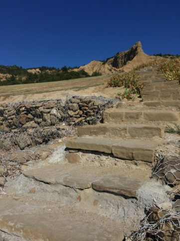 ANZAC cove looking to the Sphinz