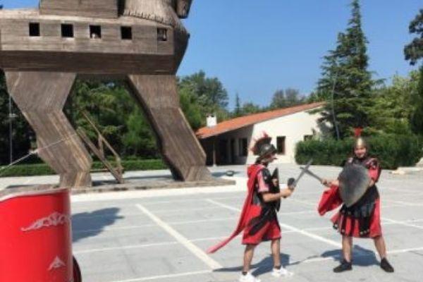 Gladiators at Troy
