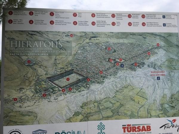 Hierapolis Map