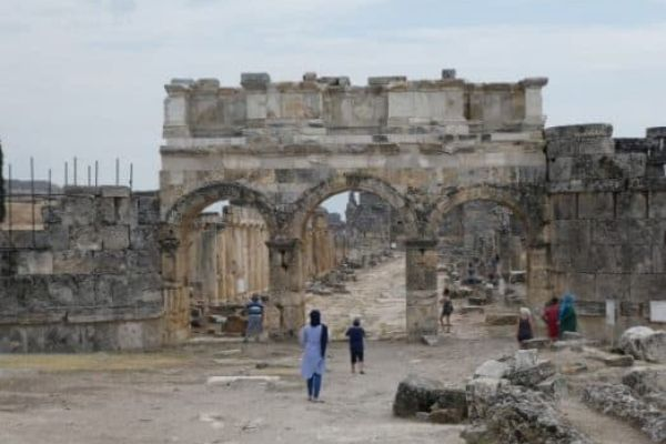 Hierapolis original columns
