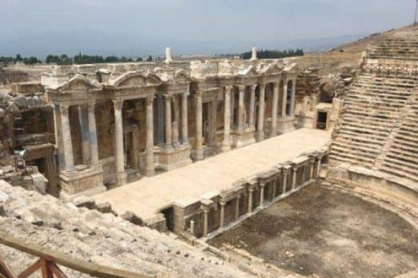 Hierapolis theatre photo 3