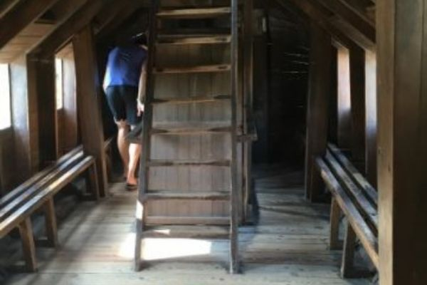 Inside the wooden horse at Troy Turkey