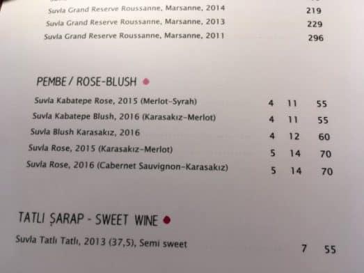 Suvla Rose prices