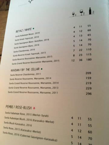 Suvla wine prices
